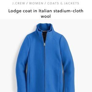 J. Crew Lodge Coat Italian Stadium